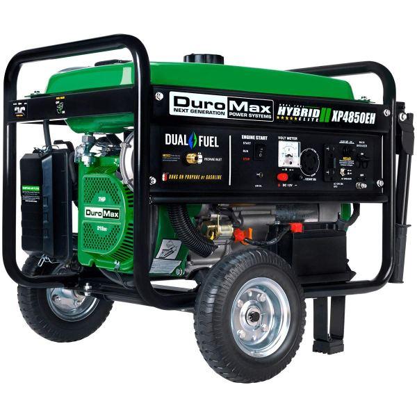 Duromax XP4850EH 3850 Dual Fuel Portable Generator