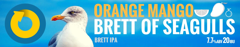 Brett of Seagulls Orange Mango Tile