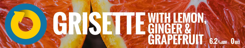 Grisette Lemon Ginger Grapefruit Tile