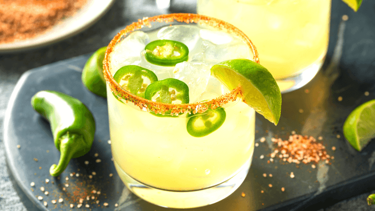A Spicy Margarita Beer Cocktail Recipe with Jalapeño Saison