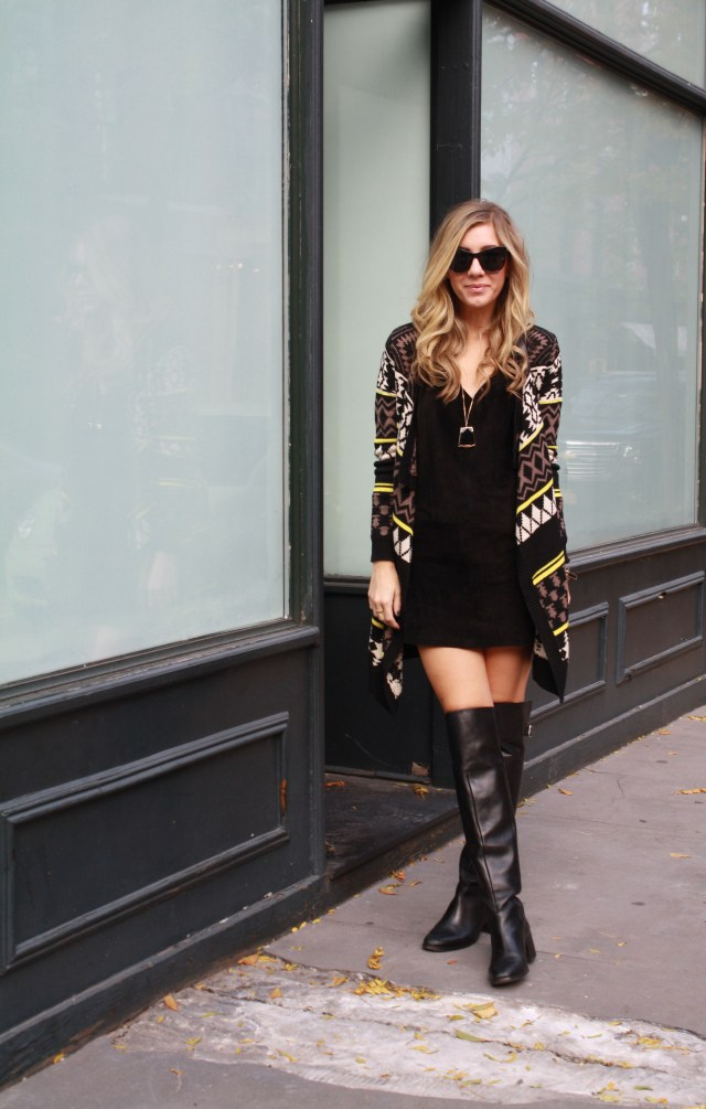 Little Black Dress, Knee High Boots, Fall, Rocksbox, 3