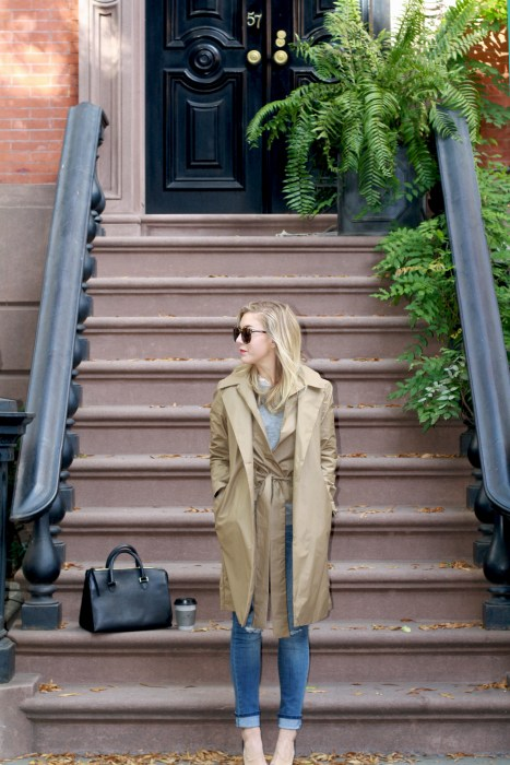 Classics, Timeless, Fashion Blogger, What I wore, Style, West Village, Trench, 2