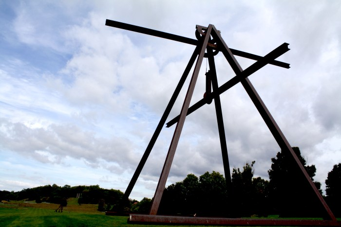 Mark di Suvero, Storm King, Art, Sculpture, Art Center, Roadtrip, NYC, Daytrip, Impossibly Imperfect, Sculpture Pack