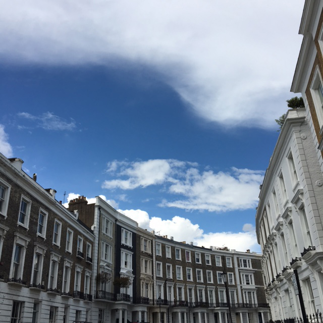 Notting Hill, London, Impossibly Imperfect Travels, Adventure, Blue Skies Ahead