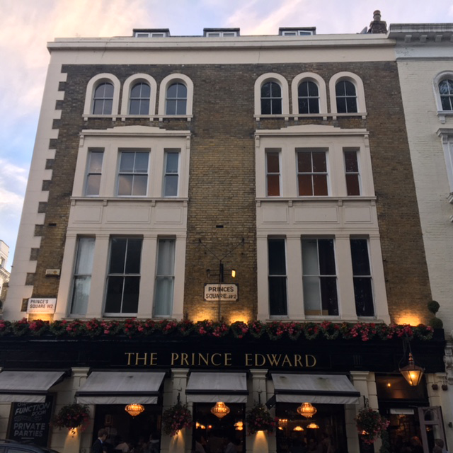Notting Hill, London, Impossibly Imperfect Travels, Adventure, Pubs, The Prince Edward