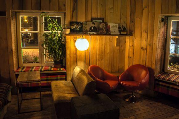 Wohnzimmerbar in Riga