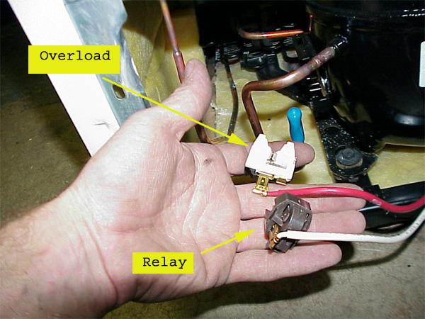 ge refrigerator compressor wiring diagram 2001 chevrolet