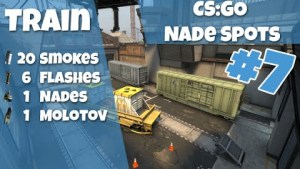 CS:GO Nade Spots Train