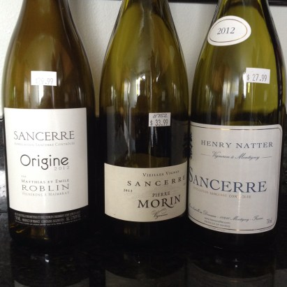 Sancerre wine is easy to drink and pairs well with food.