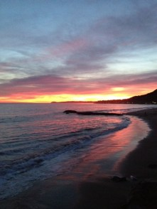 Beautiful Malibu Sunset Sky