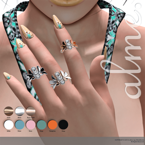 alme Jewelry Leaves - AD