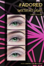 #adored sweetheart lashes taffy