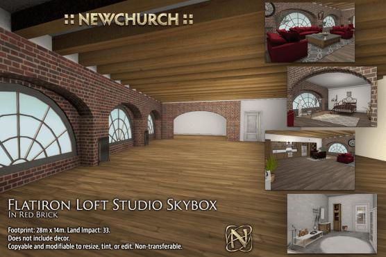 newchurch-flatiron-loft-studio-red