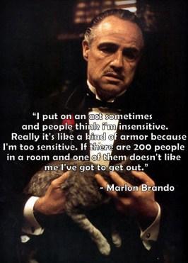 Sensitive Marlon Brando 2