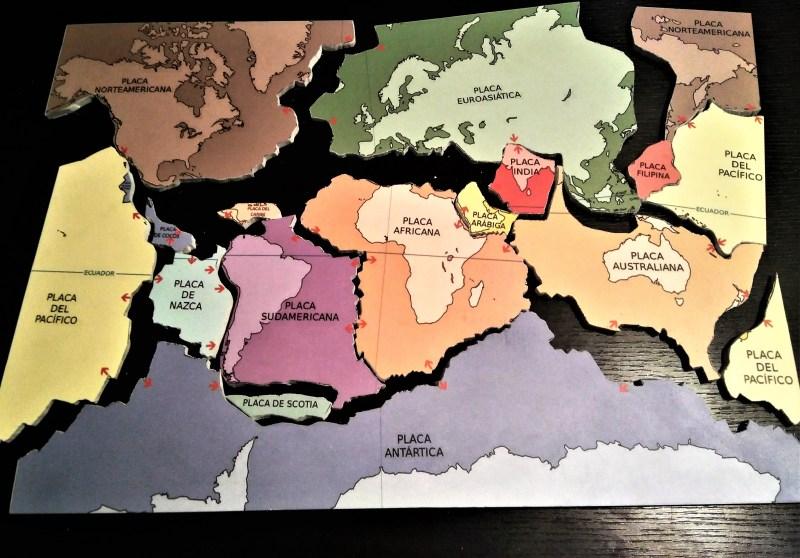 Puzzle Tectonique