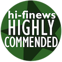 Hi-Fi News Highly Recommended Award