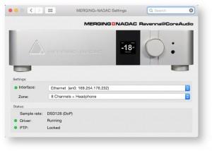 NADAC Mac Core settings