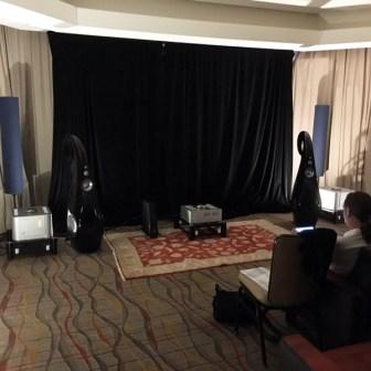 Luxman B-1000f & Vivid G2 in the Pelican Hill Room