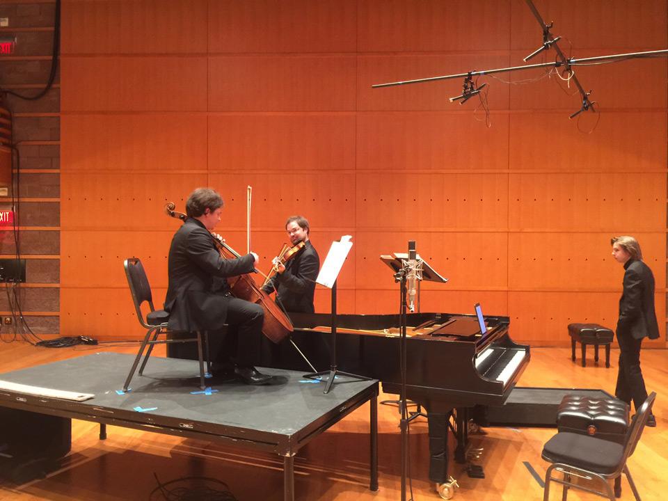 Sibelius Piano Trio - Juho Pohjonen, piano; Petteri Iivonen, violin; Samuli Peltonen, cello