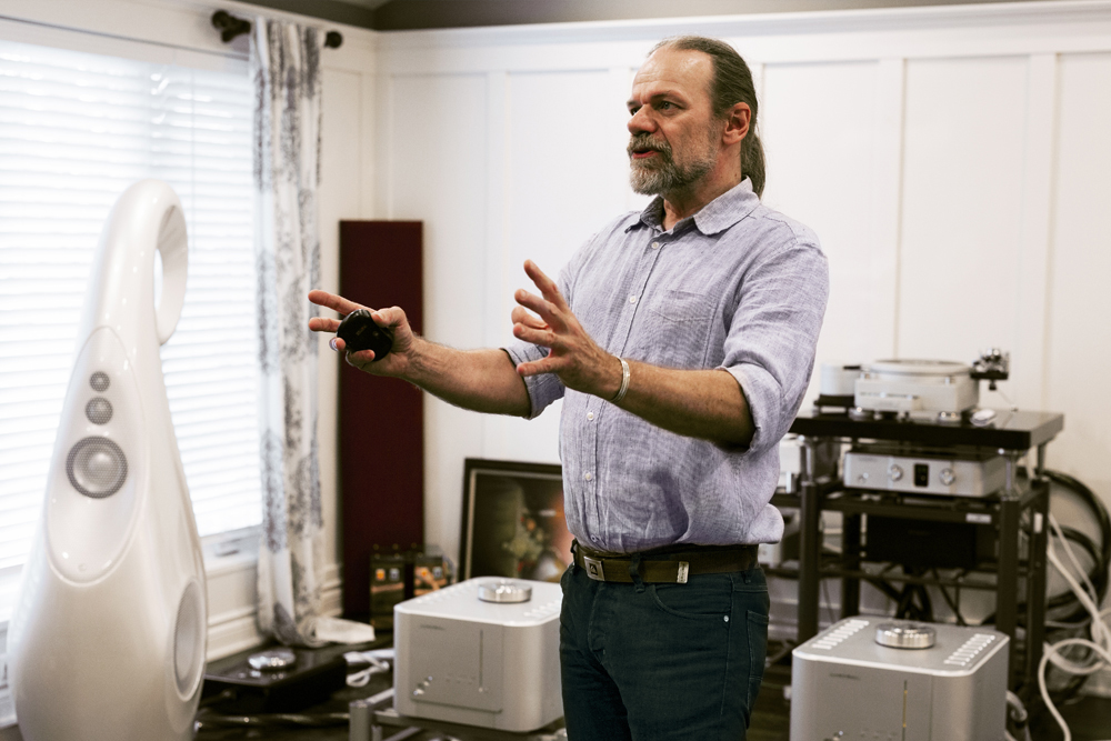 G1 Spirit designer Laurence Dickie discusses Vivid Audio's new flagship loudspeaker at the Chicago launch event