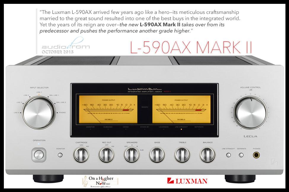 Luxman L-590AX Mark II Audiodrom Review