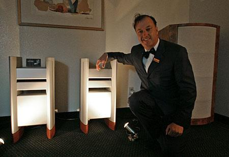 Philip O'Hanlon with Halcro amps