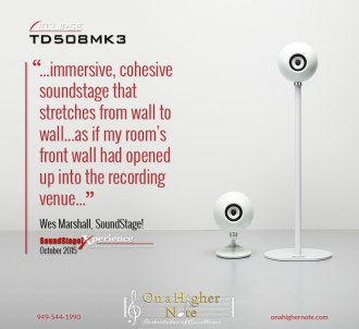 Eclipse TD508Mk3 speakers reviewed by Wes Marshall of SoundStage