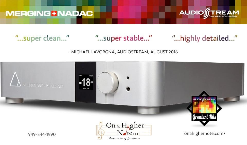 Merging NADAC Audiostream review