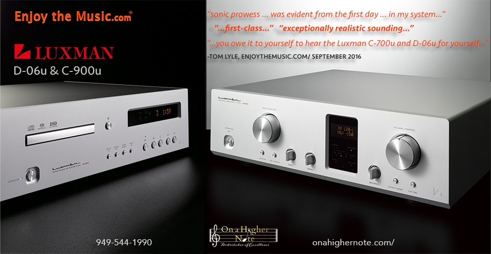 enjoythemusic.com review of luxman c-900u and d-06u