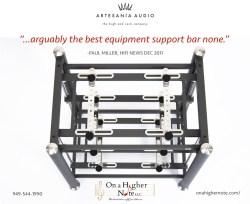 Artesania Prestige rack review by HiFi News Paul Miller
