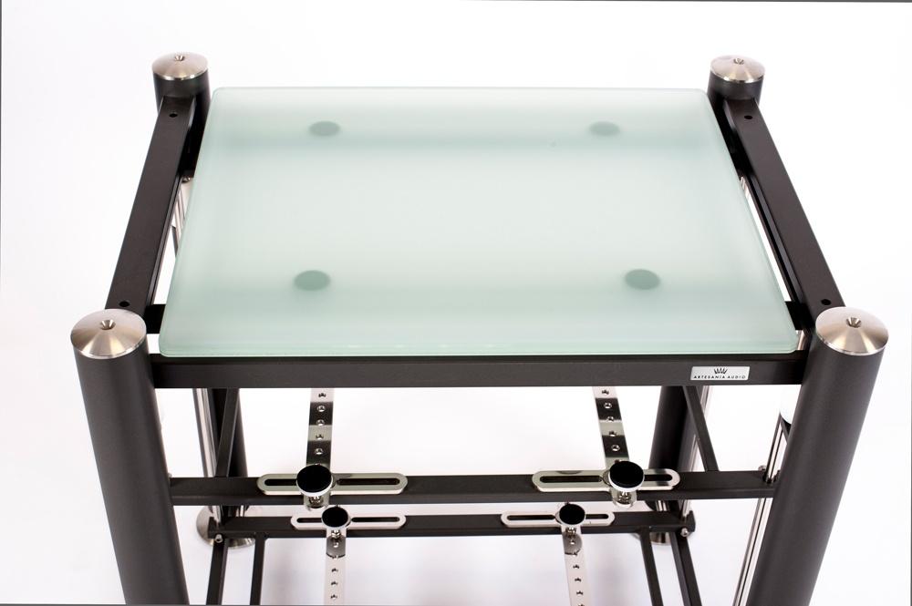 artesania treated glass shelf for exoteryc and prestige equipment racks
