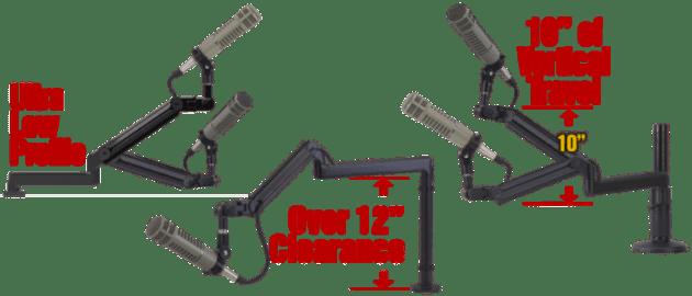 O.C. White ProBoom Ultima mic booms product image
