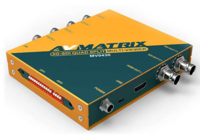 AVMATRIX 4 Channel SDI Multiviewer product image