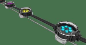 ENTTEC Lights P9DOT1 RGB lighting string dots product image