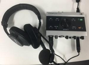 Komplete Audio 6 & Beyer headset