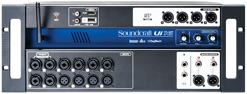 Soundcraft Ui16 product image