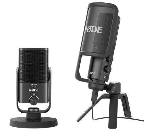 RODE NT-USB and NT-USB Microphones