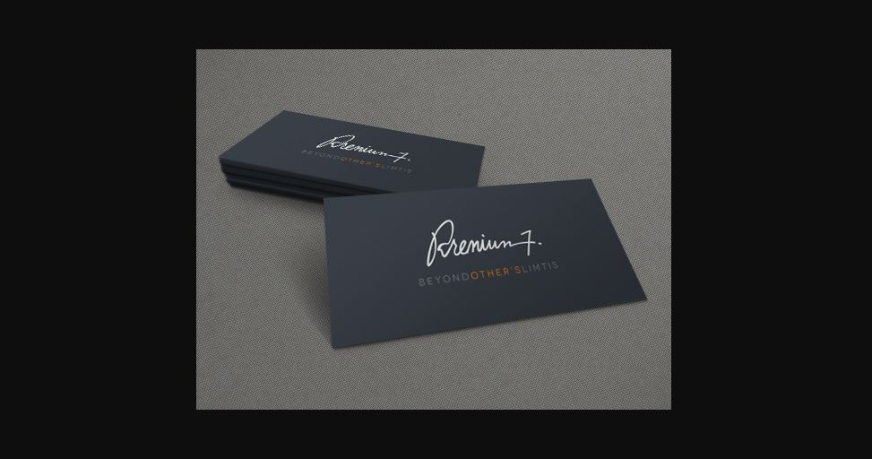 Business Card 3D Mock-Up