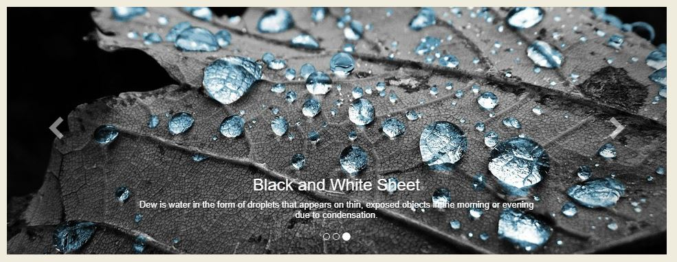 Carousel bootstrap with 3d fade effect