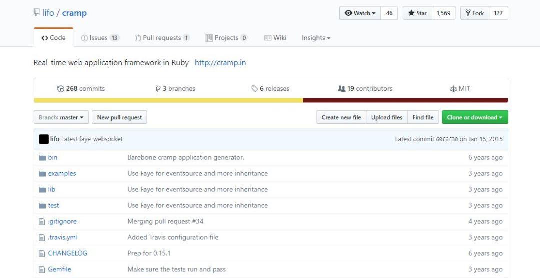 Cramp - Real Time Web Application Framework in Ruby