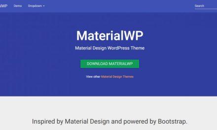 15+ Free Material Design WordPress Themes 2020