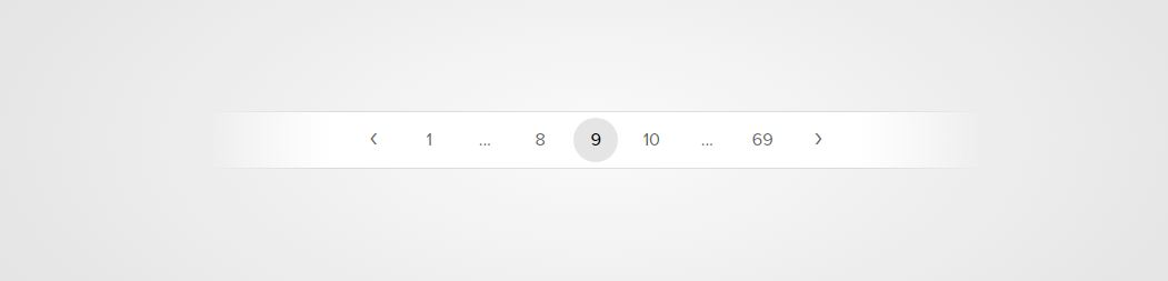 Pagination html table pagination
