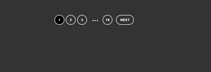 Pure CSS css pagination example