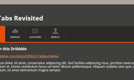10+ Best HTML CSS Tabs Menu Collection