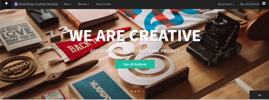 Social accordion full page responsive fade