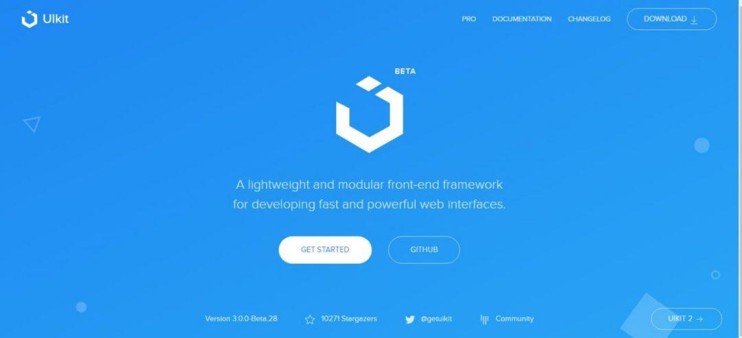 UIkit - A Lightweight Front-end Framework