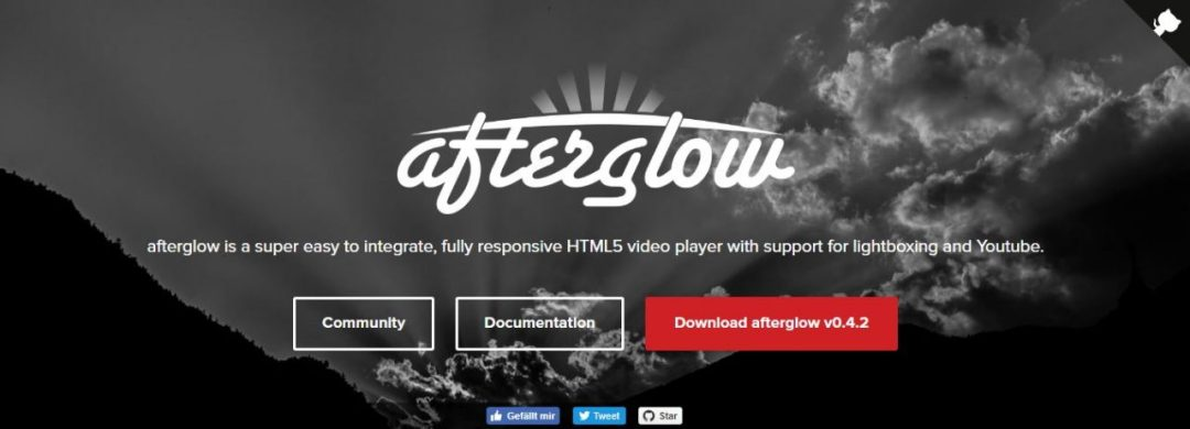 Afterglow - Lightbox HTML5 Responsive Video Player