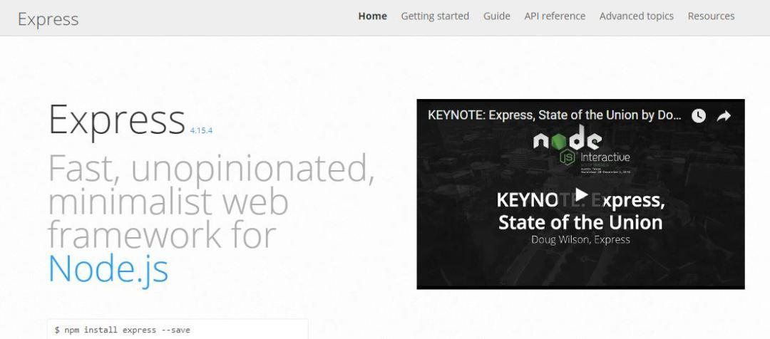Express.js Web Framework