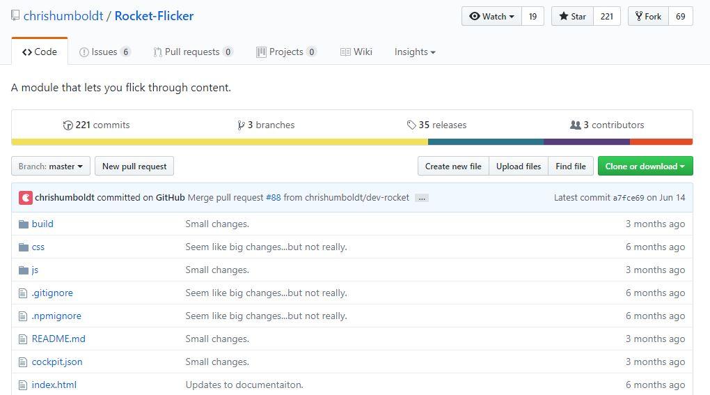 Rocket Flicker