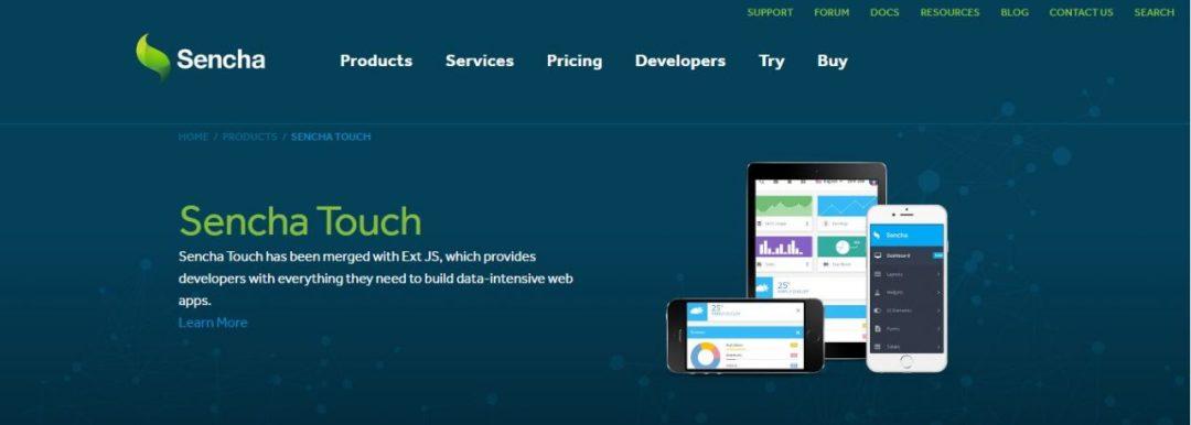Sencha Touch - HTML5 Mobile Application Frameworks
